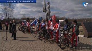 Великий Новгород посетили участники патриотического велопробега по городам-героям России и Республики Беларусь