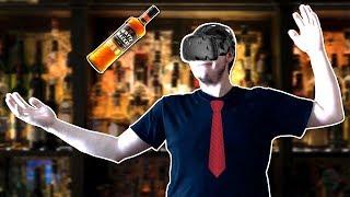 Making DRINKS in Bartender VR Simulator