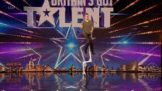 Britain's Got Talent 2020 Wesley Williams Full Audition S14E02