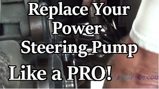 Power Steering Pump Replacement Chevy Tahoe