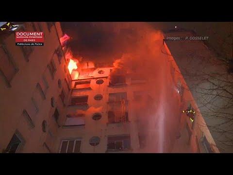 Σε εμπρησμό οφείλεται η πυρκαγιά στο Παρίσι