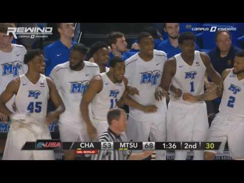 MTSU Forward JaCorey Williams Throws Down Monstrous Dunk | CampusInsiders