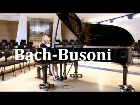 "Bach-Busoni: ""Ich ruf zu dir, Herr Jesu Christ"" BWV 639 Ann-Helena Schlüter Klavier"