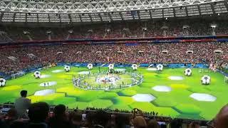 #Rusia2018 Inauguración del Mundial