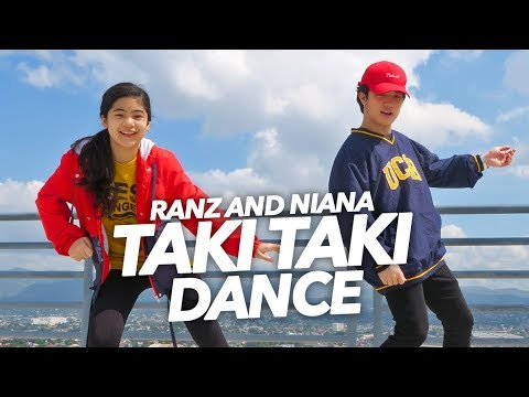 TAKI TAKI - DJ Snake Ft Selena Gomez Dance | Ranz and Niana