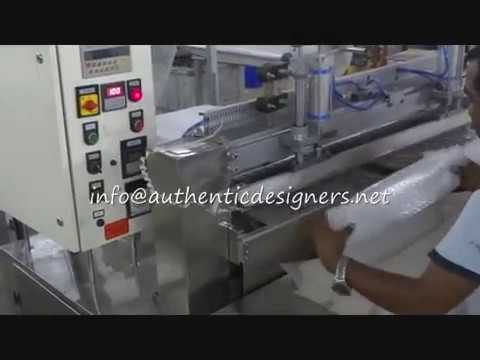 Air Bubble Sheet Bag Making Machine With Double Folder System