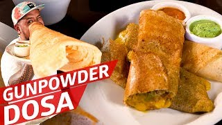 Rolling Gunpowder Dosa at Santa Fe's Only South Indian Restaurant — Cooking in America