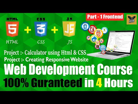 Web Development (Frontend) Full Course in One Video | Full Tutorial for Beginners to Expert [Hindi]