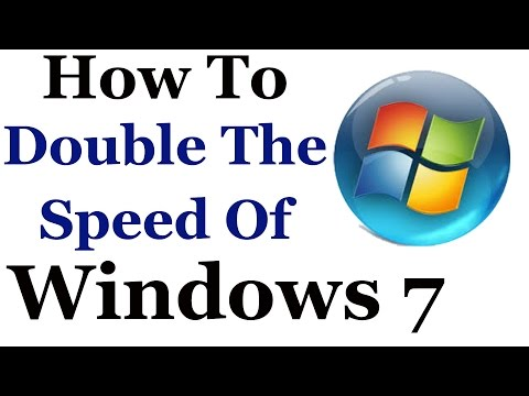 windows 7 tutorial how to make it faster and improve it s ov