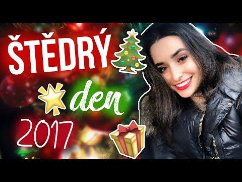 MŮJ ŠTĚDRÝ DEN // Vlog z Vánoc 2017