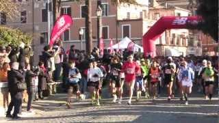 preview picture of video 'Maratonina dei 3 Comuni - Civita Castellana 27/1/2013'