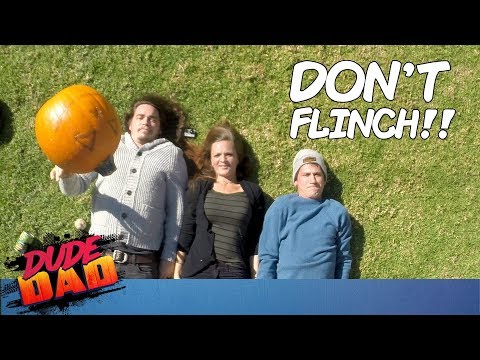 Flinch Challenge | Dude Dad