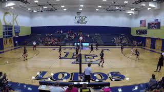 Little Elm Lobos Varsity Volleyball Highlights '17