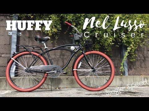 Huffy Nel Lusso Cruiser Single-Speed bicycle – $119 at Walmart