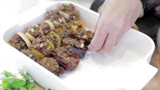 מתכון לפירות יבשים ממולאים בבשר טחון