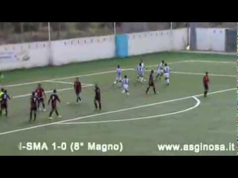 Preview video GINOSA-SAN MARZANO 1-1 Il Ginosa impatta in casa con un buon San Marzano
