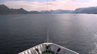 Hurtigruten Cruise 2600km 134 hours - In 5 Minutes