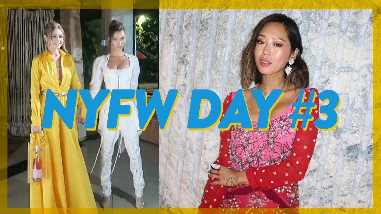 NYFW Day 3: Missing Shows, biggest trends, BoF 500 & Tibi // Vlog #63 | Aimee Song