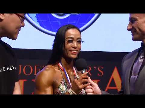Interview Jung Mi Hyun. Overall Women´s Physique Olympia Hong Kong
