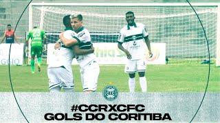 #CCRxCFC - Gols do Coritiba