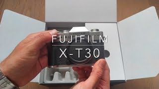Fujifilm X-T30 15-45mm unboxing