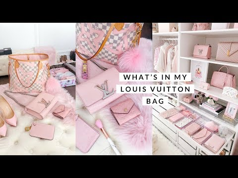 WHATS IN MY LOUIS VUITTON BAG? TRAVEL ACCESSORIES!✈️