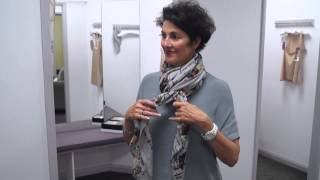 The Italian Touch show you 4 ways to wear a scarf!