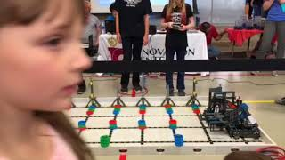 December 9, 2017 Tournament at Red Hawk Elementary School – Finals Match with Red Hawk's Team 11707A (Yellow Spudniks)