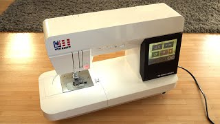 Unboxing W6 N 8000 Exklusive Computer Nähmaschine