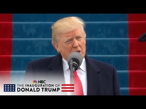 President Donald Trump: 'Together We Will Determine the Course of America' | NBC News
