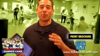 preview picture of video 'Martial Arts Summer Camp | Mount Laurel NJ | Peter Liciaga'