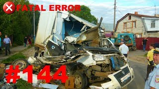 🚘🇷🇺[ONLY NEW] Russian Car Crash Compilation (14 August 2018) #144