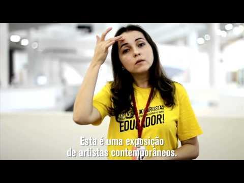 #emnomedosartistas - Convite visita para surdos