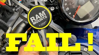 RAM Mounts X-Grip Complete FAIL