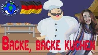 Backe, backe Kuchen   Cook song in German   World Kids Action Songs