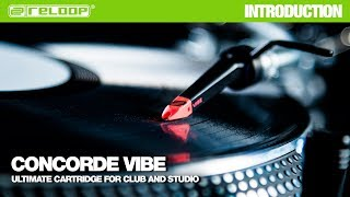 Reloop Concorde VIBE cartridge: Ultimate cartridge for club and studio