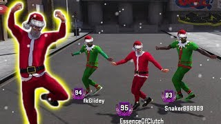 SANTA IN THE PLAYGROUND! CHRISTMAS SPECIAL NBA 2K18