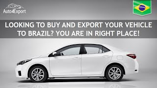 Shipping cars from USA to Brazil - Auto4Export