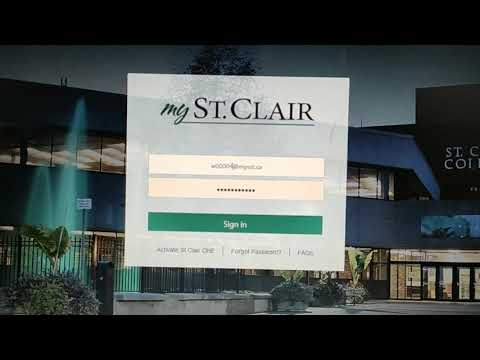 How to access online classes | How to attend online class | St. Clair college | May intake 2020