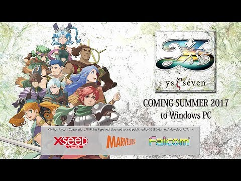 Ys SEVEN (PC) Teaser Trailer thumbnail
