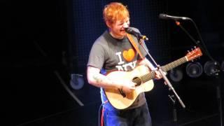 "Ed Sheeran *NEW SONG* ""New York"" 11/1/13 Madison Square Garden HD"