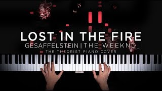 Gesaffelstein & The Weeknd   Lost In The Fire | The Theorist Piano Cover