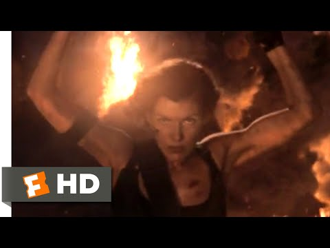 Resident Evil: The Final Chapter (2017) - Tower Inferno Scene (5/10) | Movieclips