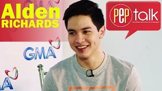 "PEPtalk. #KiligPaMore: Who Does Alden Richards Want To Star With In A Movie: ""Si Yaya Dub."""