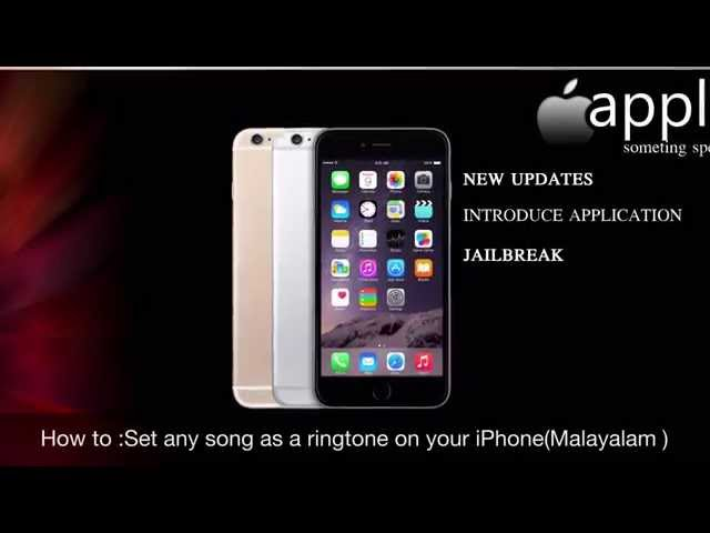 free ringtone songs for iphone how to set a song as your ringtone on iphone malayalam 16972