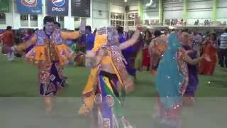 Zee TV Canada Dandiya Dhamal by DhamalMasti Group Toronto 2015