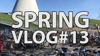 What a great sunny Spring TU Delft vlogger Hugo uploaded his 13th