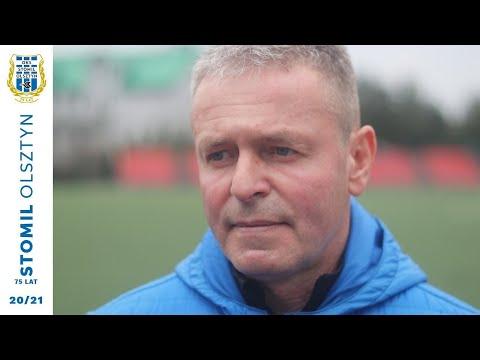 Adam Zejer po meczu Stomil Olsztyn - Legia Warszawa 0:1