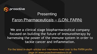 faron-pharmaceuticals-presenting-at-the-proactive-one2one-virtual-forum-16th-september-2021