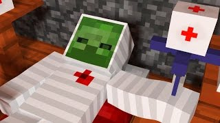 JUMP SkeleGUN and ZOMBIE Minecraft Animation